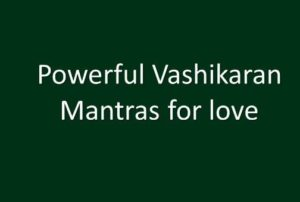 vashikaran tips to get love back