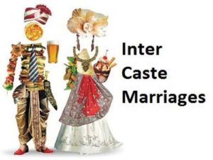 Resolve all inter caste marriage issues