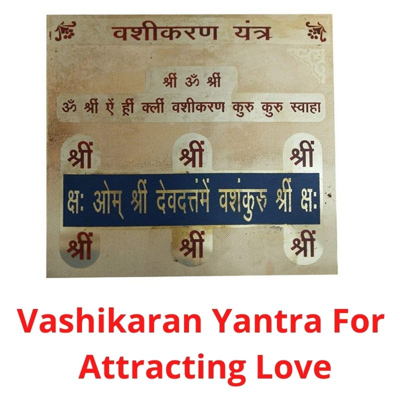 Buy Vashikaran Yantra For Attracting Love